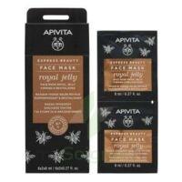 Apivita - Express Beauty Masque Visage Raffermissant & Revitalisant - Gelée Royale  2x8ml à Serris
