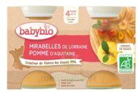 Babybio Pot Mirabelle Pomme à Serris
