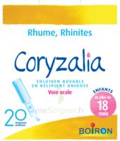 Boiron Coryzalia Solution Buvable Unidose B/20 à Serris