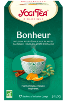 Yogi Tea Tisane Ayurvédique Bonheur Bio 17 Sachets/1,8g à Serris