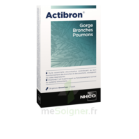 Nhco Inspira Actibron Gorge – Bronches – Poumons Gélules B/28 à Serris